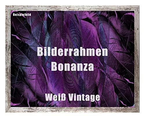 Homedecoratie fotolijst Bonanza acrylglas helder 1 mm 60 x 85 cm Weiß Vintage