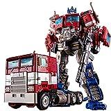 Transformers Optimus Prime, dunkler Commander Optimus Prime für Jungen, die Roboter-Autos-Spielzeug-Generationen für Cybertron verwandeln: Optimus Prime Übergroße Action Figure Geburtstagsgeschenke fü