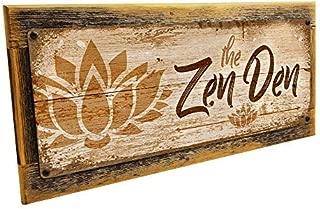 Homebody Accents Framed The Zen Den Lotus 6