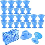 Emoly 40 Pcs Magic Silicone