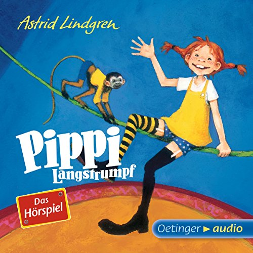 Pippi Langstrumpf cover art