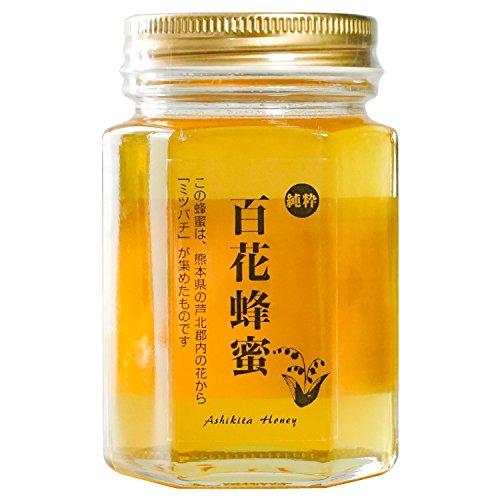 吉川養蜂園 国産純粋はちみつ 百花蜂蜜 (180g)