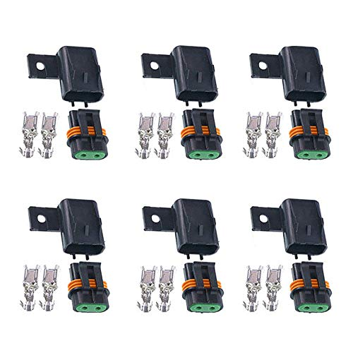 JooFn Waterproof Sealed ATO ATC Fuse Holder Assembly Splice Existing Wire Kit (Pack of 6)