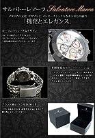 サルバトーレ マーラ クロノグラフ 腕時計 SM8005-WHCL ホワイト【メンズ】 [並行輸入品]