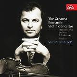Los Mas Grandes Conciertos Romanticos De Violin: Mendelssohn, Brahms, Tchaikovsky Y Sibelius/ Hudecek