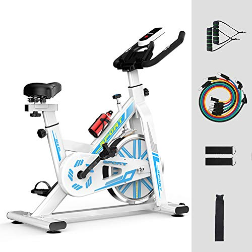 For Sale! DAGUO Indoor Cycling Bike Stationary,Spinning Bike with Comfortable Seat Cushion,and 11Pcs...