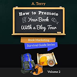 How to Promote Your Book with a Blog Tour audiobook cover art