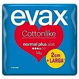 Evax Cottonlike Alas Normal Plus Compresas - 14 Compresas