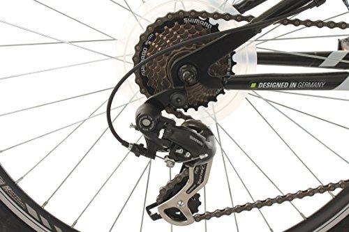 KS Cycling Fahrrad Mountainbike ATB 26 Zoll Zodiac weiß-Grün - 3