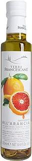 Terre Francescane - Orangen-Öl - Extra Natives Olivenöl mit Orangen-Schalen 2er Pack / 2 x 250 ml