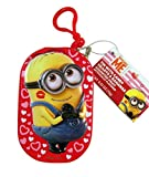 Despicable Me Minions Valentine's Day Zipper Tin with Candy, 0.53 oz