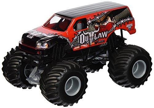 Hot Wheels Monster Jam Iron Outlaw Die-Cast Fahrzeug, 1:24