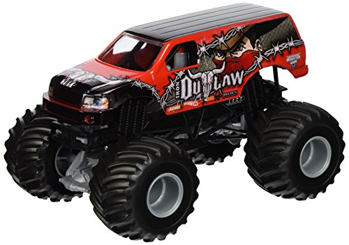 Hot Wheels Monster Jam Iron Outlaw Die-Cast Fahrzeug, 1:24