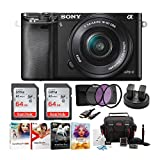 Sony Alpha a6000 24.3MP Mirrorless Digital Camera with 16-50 mm Lens...