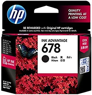 WER Compatible for 678 Cz108a 678 Cz107a Black INK Cartridge Printer Replacement Printing Supply for Hp Deskjet 2515/3515/...