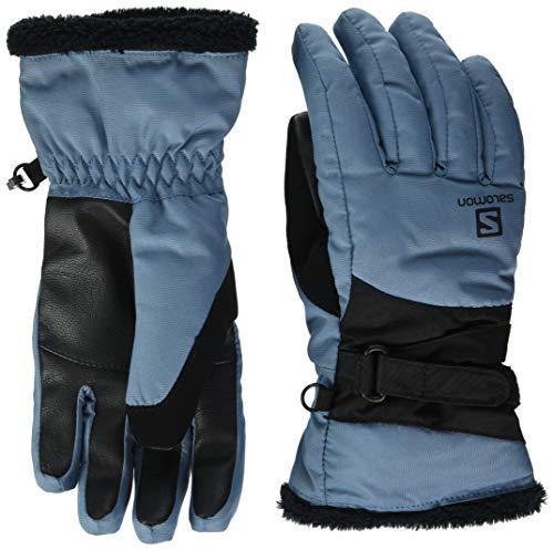 Salomon, Ski- und Snowboard-Handschuhe, Damen, FORCE DRY W, Blau (Copen Blue), Größe L, LC1427800