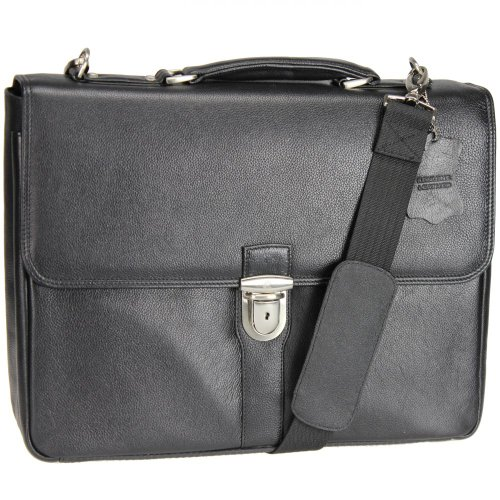 Esquire Courier Laptoptasche Leder 40 cm