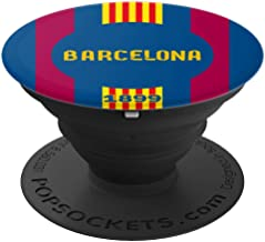 PopSockets: Barcelona Football Soccer Fan Futbol - PopSockets Grip and Stand for Phones and Tablets