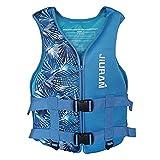 Funyin - Chaleco salvavidas para adultos y niños, con bolsillo de seguridad, chaleco de flotación, chaleco de flotabilidad para pesca, surf buceo Rafting, A Bleu2, M