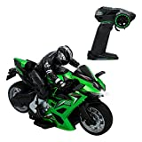 ColorBaby - Moto radiocontrol Speed&Go, Escala 1:10 (85341)