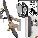 MEOLLO Soporte Colgador para Skateboard (100% Acero) - Fabricado en España