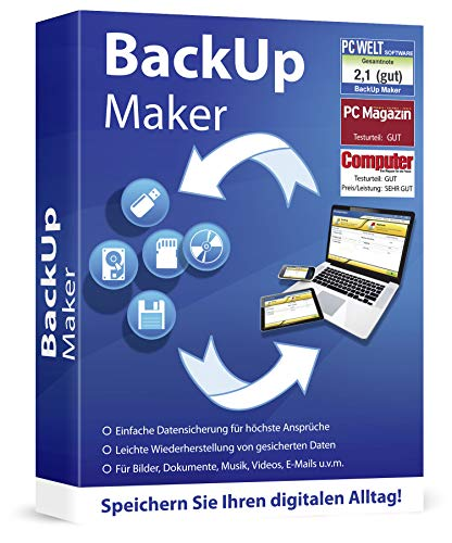 Markt+Technik -  Backup Maker Pro -