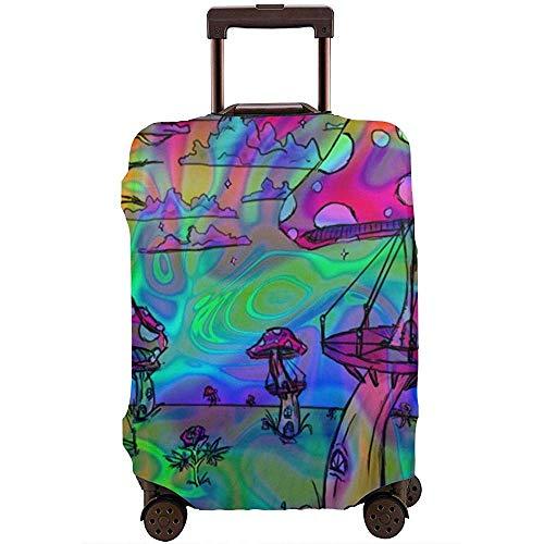 High Elasticity Travel Suitcase Protective Luggage Cover Dustproof Anti-Wrinkle Washable LGC-119 M