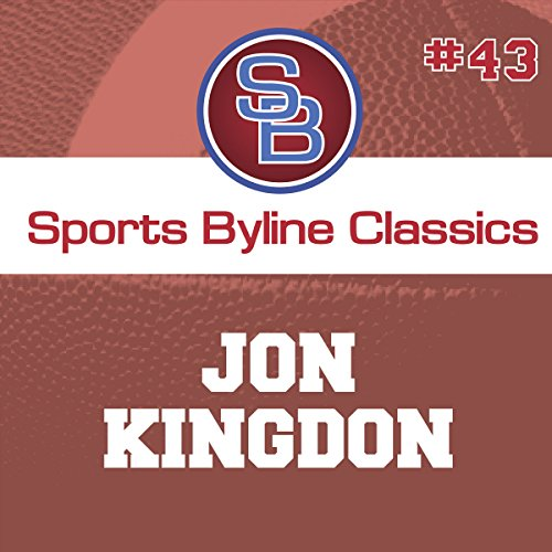 Sports Byline: Jon Kingdon copertina