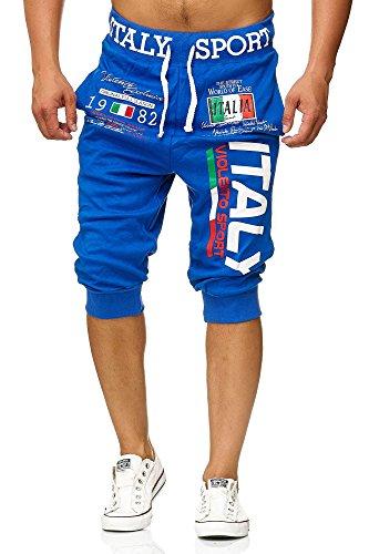 Violento Bermuda-Shorts Italy Design BM-1120 (L-Slim, Blau)