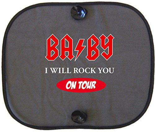 BABY I WILL ROCK YOU ON TOUR Protection solaire voiture pour enfants