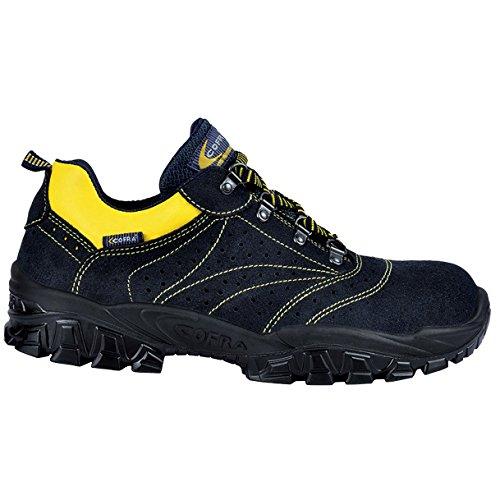 Cofra NT300-000.W41 Paire de Chaussures de sécurité New Arno S1 SRC Taille 41 Noir
