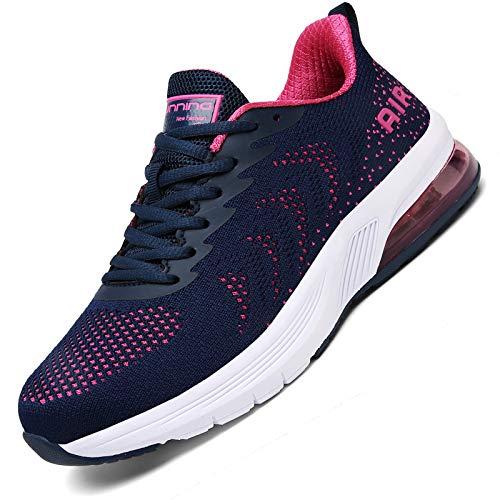 K DUORO Zapatillas de deporte para hombre, transpirables, antideslizantes, para correr, gimnasio, fitness, 36 – 47, color, talla 36 EU