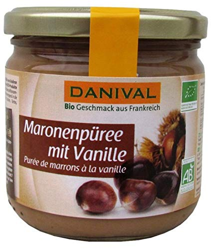 Danival Bio Maronenpüree mit Vanille (1 x 380 gr)