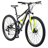 Schwinn Traxion Mountain Bike, Full Dual Suspension, 29-Inch...