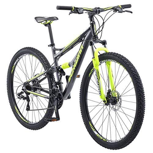 Schwinn Traxion Mountain Bike, Full Dual Suspension, 29-tums hjul