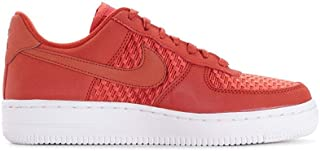 Nike Womens Air Force 1 '07 Pinnacle AF1 Red White Athletic Fashion Shoes