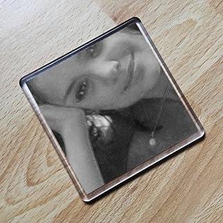 Katie Holmes - Original Art Coaster #js003