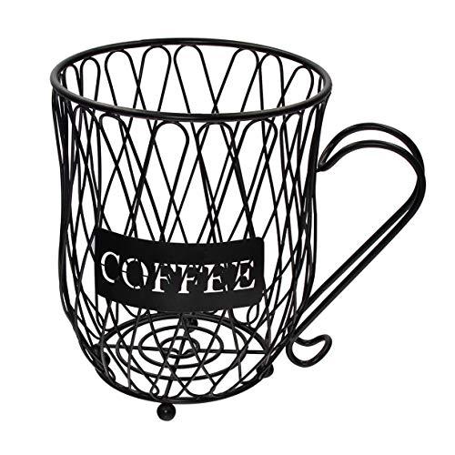 Coffee Pod Holder and Organizer MugCup Keeper Coffee amp Espresso Pod Holder Coffee Mug Storage Basket