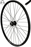Redondo 26 Zoll Vorderrad Laufrad Fahrrad V-Profil Felge Schwarz 6 Loch Disc