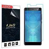 J&D Compatible pour 8 Pièces Protection écran Nokia 5.1, [Non Couverture Complète] Protecteur...