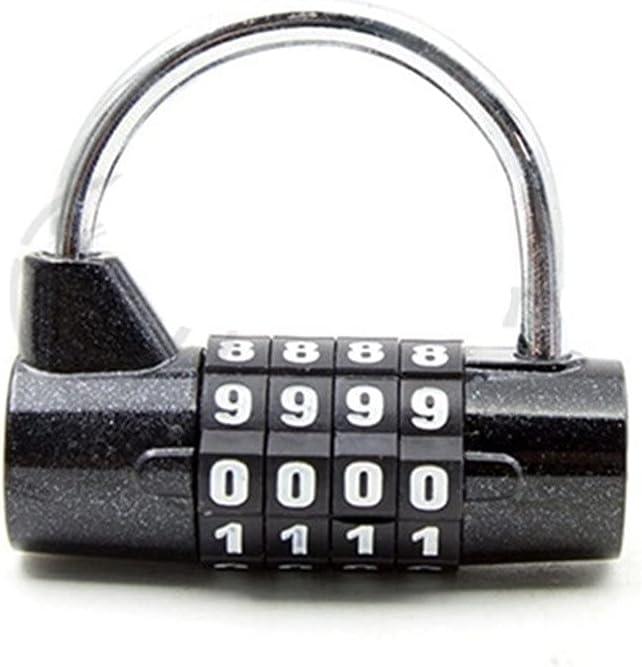 WNAVX Key Padlock 4-Digit Password Wide Lock Hook Comb Security Popular shop Regular discount is the lowest price challenge