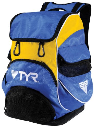 TYR Alliance Team II Backpack, Royal/Gold