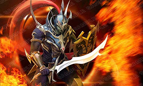 Andycards Playmat Black Luster Soldier - Exclusive for Yugioh Card Game