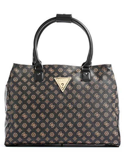 Guess Damen Wilder Shopper Tote Gepäck-Handgepäck, braun