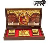 Sai Amrut S A Gifts Sadguru Sai MDF Wooden Momento Acrylic Decorative Sai Baba Photo Frame with Charan Paduka with Natural Flower Fragrant (Gold) car perfumes May, 2021