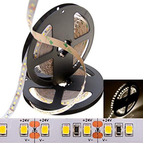 deutsche Marke DEMODU® - der PREMIUM 24V LED Streifen für professionelle Projekte - Neutralweiß 4000K 5m 120 SMD 2835