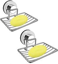 FHK Sponshouder voor tegels, zeepschaal op spiegel, zeepschaal voor handdoeken, zeepschaal met hoge zuigkracht, multifunct...