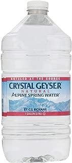 Geyser(クリスタルガイザー) ガロン 3780ml×6本 [並行輸入品]