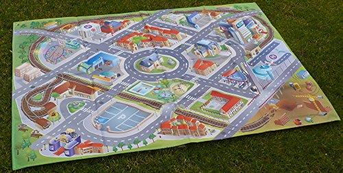 Nappe de jeu extérieur la ville en polyester 200x140cm