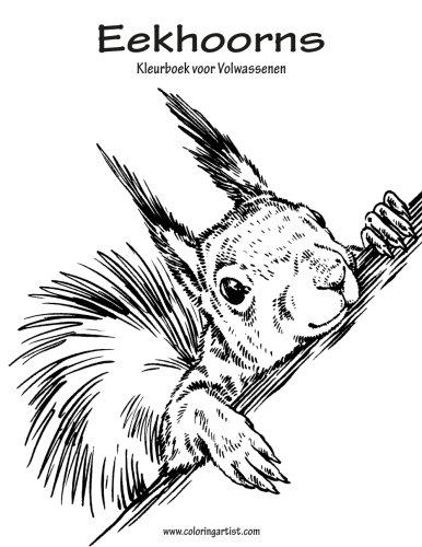Eekhoorns Kleurboek voor Volwassenen 1